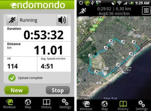 endomondo-hardloop-app