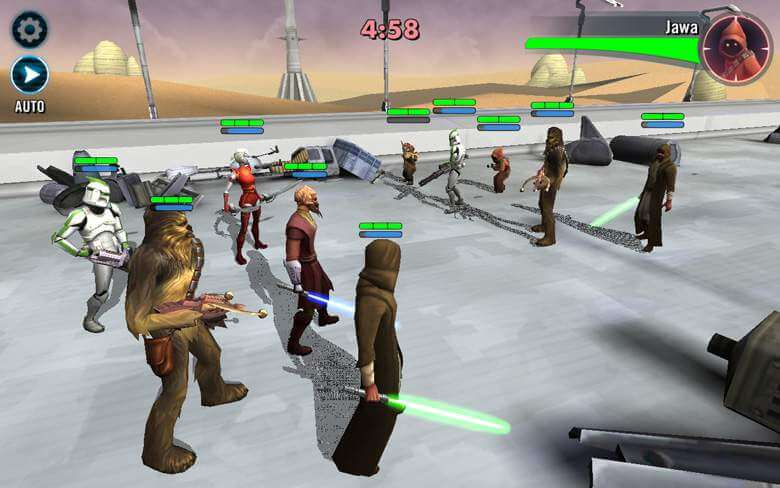 Star Wars: Galaxy of Heroes afbeelding