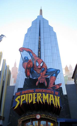 Spiderman-darkride