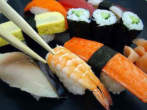 Top 5 beste sushi in Den Bosch