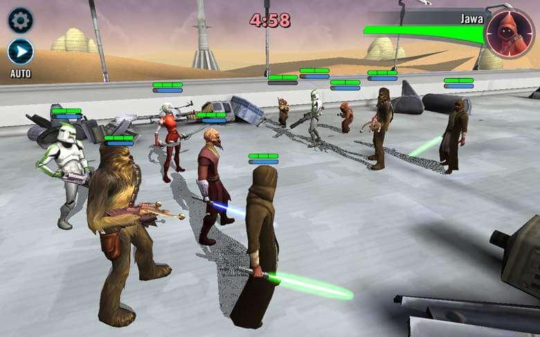Star Wars: Galaxy of Heroes afbeelding